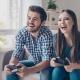 Videogiocatori felici