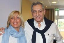 Jean-Marc Cittone e la sua assistente Roxane
