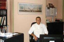 Il Prof. Jean-Marc Cittone nel suo studio privato a Lione (Fr)