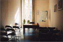 Un'aula del Centro Studi Athenaeum 2000