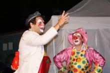clown bussola show