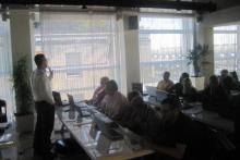Alcuni momenti del corso webmaster a Milano che si è svolto a settembre