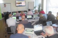 Gli studenti durante il corso webmaster utilizzano la piattaforma da subito e possono creare un sito da prova.