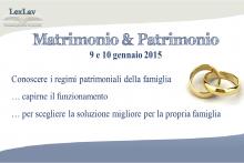 Matrimonio & Patrimonio