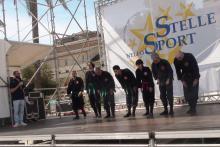 Esibizione al festival dello sport