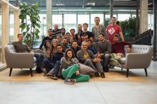L'aula della prima edizione di CodeMaster