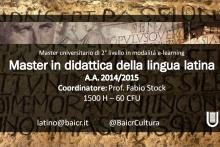 Master Didattica della Lingua Latina