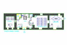 disposizione aula I° livello