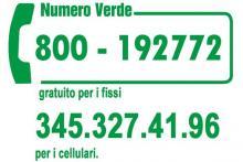 Contattaci al Numero Verde gratuto dal Lunedi al Venerdì dalle ore 9.00 alle 20.00.