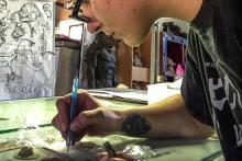 Ferite - FANTASTIC FORGE la scuola di effetti speciali di Sergio Stivaletti