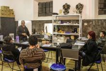 Lezione - FANTASTIC FORGE la scuola di effetti speciali di Sergio Stivaletti