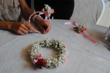 le coroncine di fiori