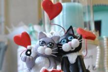 "torta corso ""i gattini innamorati"""