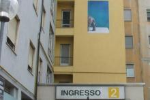 Policlinico di Modena - Ingresso Aula del Corso