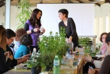 Durante un Corso di Aromaterapia tenuto a Venezia