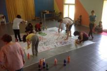 Laboratorio presso la Scuola Artedo di Lecce