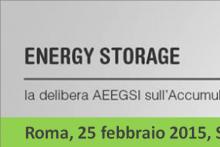 Energy Storage e la nuova delibera sull'accumulo