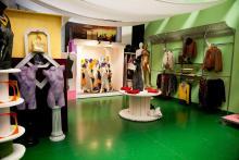 Oltre 200 mq di laboratorio dove mettere in pratica quello che viene insegnato durante i corsi di Visual Merchandising e Arte Vetrinistica