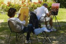 Workshop di disegno e pittura in Toscana