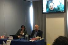 Collegamento interattivo tra le aule di Milano e Roma