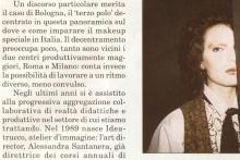 Articolo-intervista ad Ale Santanera, pag. 4 Fangoria