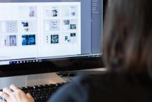 VISUAL DESIGN - Studenti al lavoro