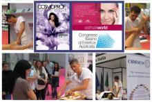 I Massaggi Dea e Dea+ sono stati presentati e dimostrati al Cosmoprof Worldwide 2014 e all'Esthetiworld 2014