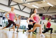 Operatore fitness sala aerobica