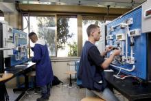 allievi del corso operatore elettrico(scuola professionale ELIS)