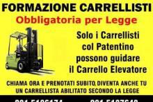 Patentino Mulettista Carrellista Napoli