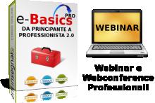 Il nostro corso per Professionisti del Webinar