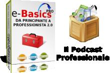 Il nostro corso per creare, distribuire e vendere Podcast professionali