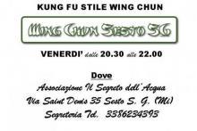 locandina Wing Chun Kung fu