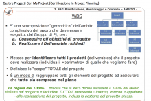 La WBS nel Project Management