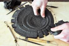 Modellando l'argilla