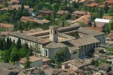 Complesso monumentale di S.Pietro - sede delle masterclasses di Gubbio Summe Festival