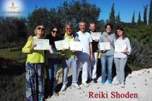 Conclusione corso 1° livello Shoden: foto di gruppo