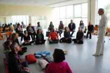 Incontro OM Chanting presso Yogarama di Grottaglie