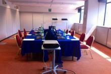 Centro Congressi NH Milano: Aula 14 - vista docente 1