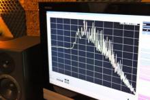 Analisi spettrale sul suono