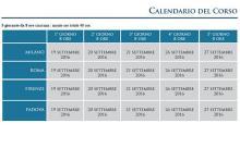 Calendario Lead Auditor Qualita 40 ore ISTUM