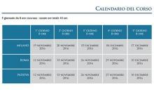 Calendario Lead Auditor Energia 40 ore ISTUM