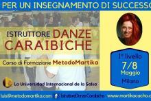 Istruttore Danze Caraibiche Corso di Formazione MetodoMartika Milano