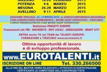LAVORA SUBITO CON I FONDI EUROPEI - PROFESSIONALITA' INNOVATIVA www.eurotalenti.it