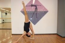 La Prof.ssa Valentina Lo Buono insegnante di danza dello Spazio danza 37