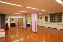 La Sala danza dello Spazio Danza 37