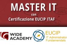 Master IT con certificazione ITAF EUCIP e stage Italia/Estero