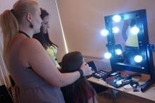 Docenti Make Up Artist operanti nella moda, televisione, pubblicità, fotografia magazine, a disposizione di ogni allievo durante e dopo i corsi