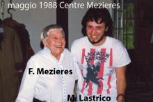 Centre Mezieres Parigi 1988. F. Mezieres e Mauro Lastrico