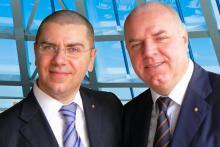 I Fondatori di Gruemp Damiano e Claudio Frasson